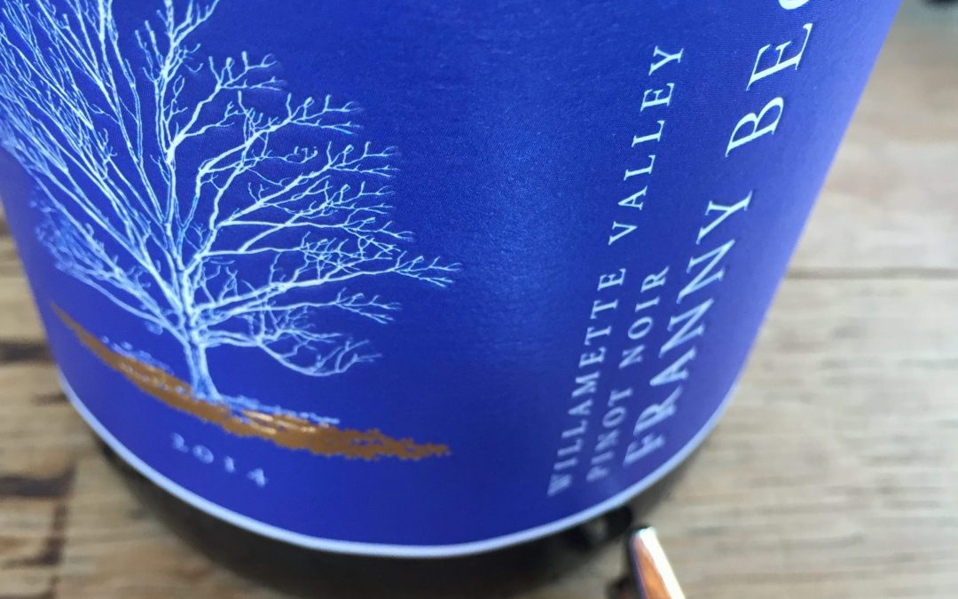 Worth the Splurge: 2014 Franny Beck Willamette Valley Pinot Noir