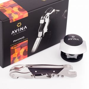 Rhino Corkscrew and Wine Stopper Avina 5 Insanely Great Gifts for Wine Lovers