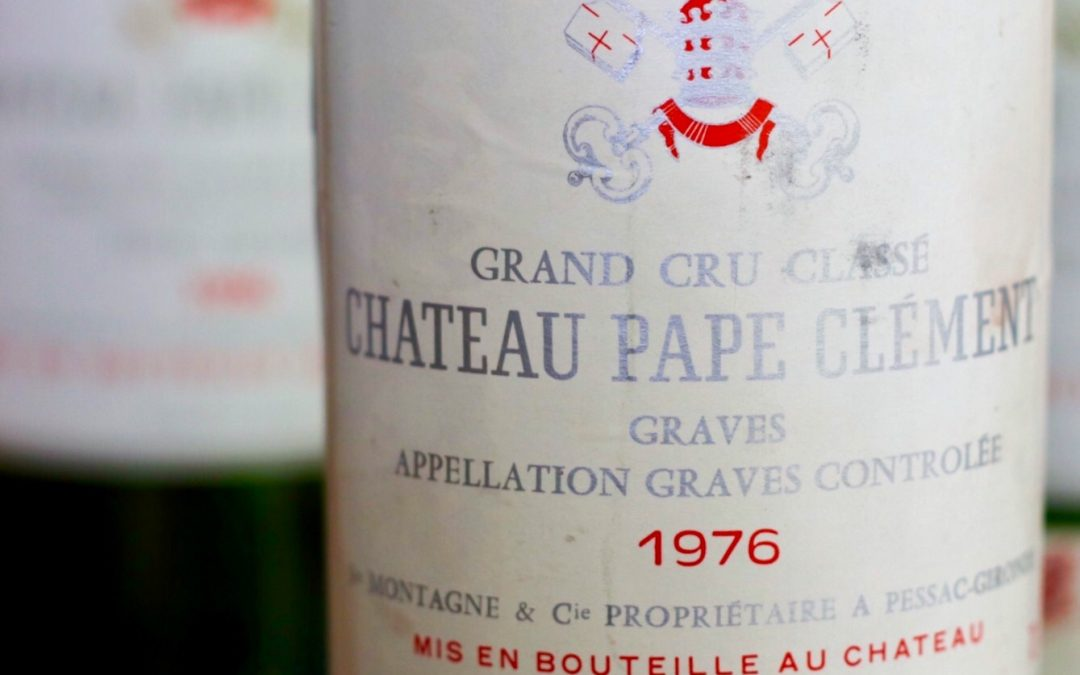 Tasting Four Decades of Pape Clément in One Night