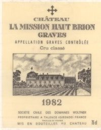 La Mission Haute Brion 1982 10KBottles